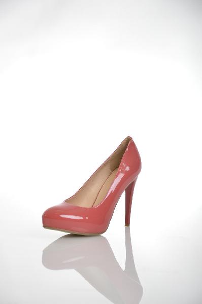 женские туфли на платформе makfine, розовые
