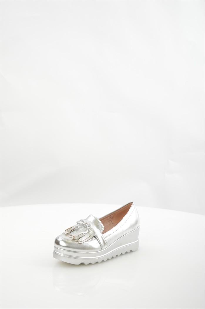 женские туфли на каблуке mellisa, серые