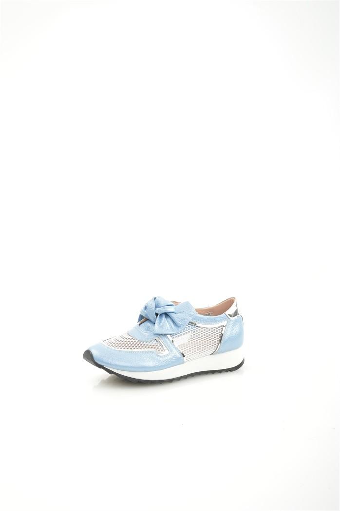 женские кроссовки springway, голубые