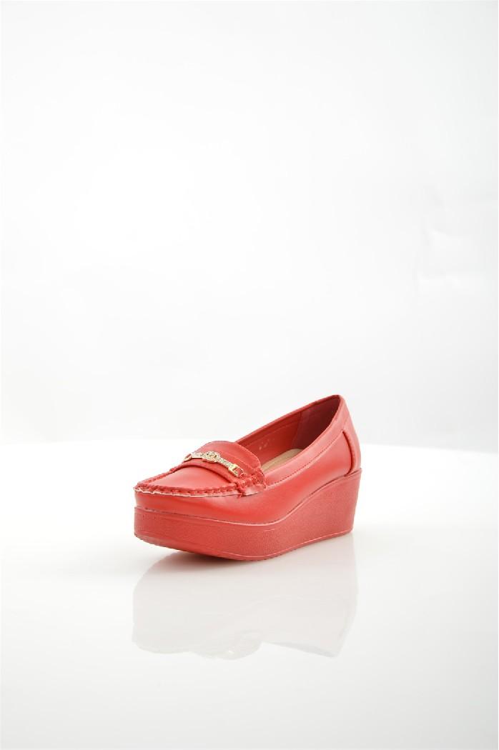 женские туфли на каблуке stephan, красные