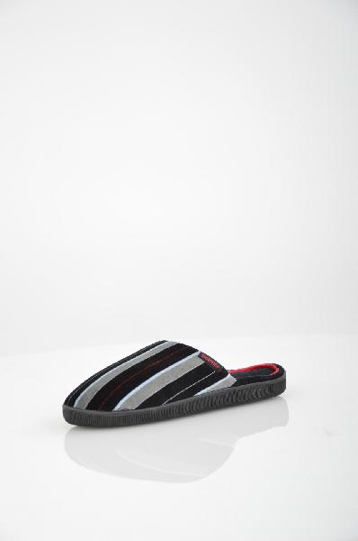 мужские тапочки isotoner, черные