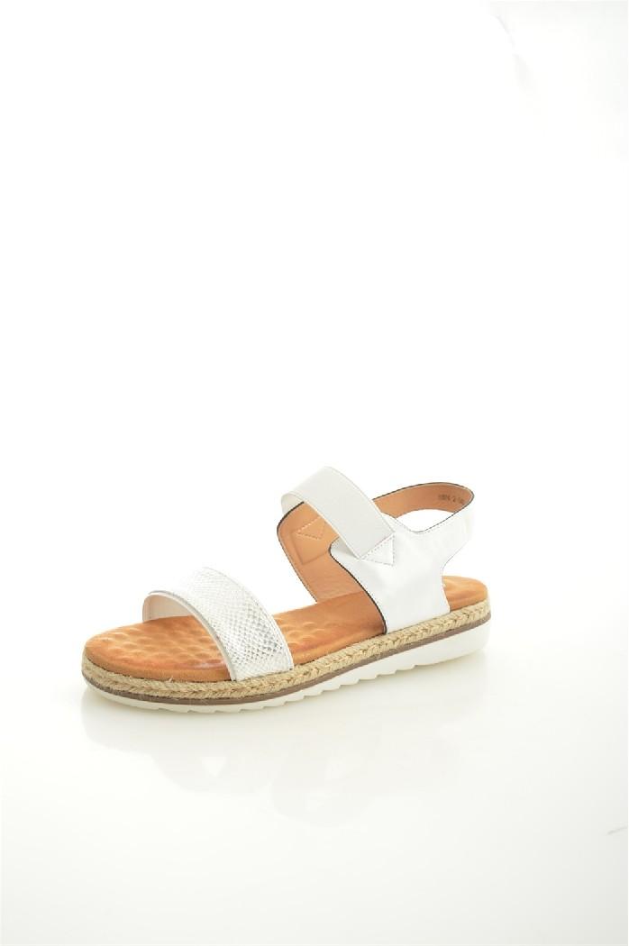 женские босоножки на каблуке capriseelite, белые