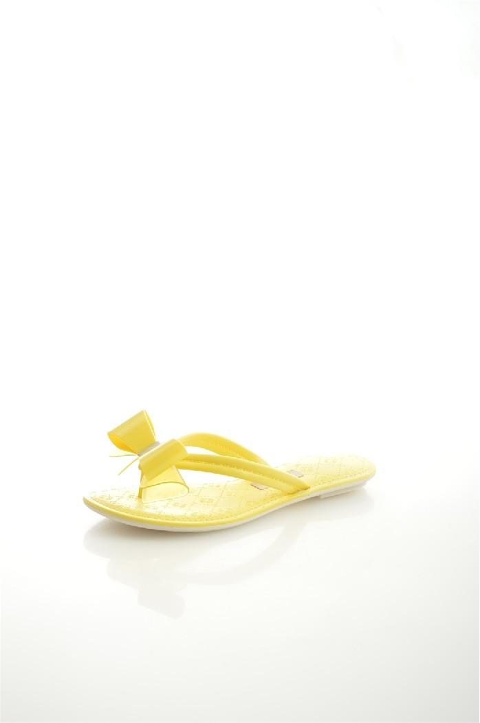 женские шлепанцы grendha, желтые
