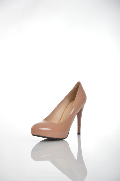 женские туфли на платформе makfine, бежевые