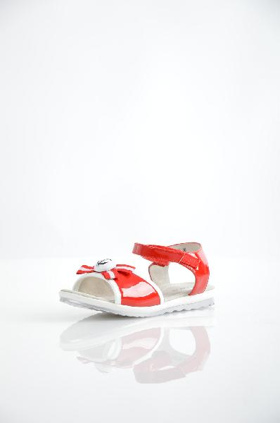 сандалии vitacci для девочки, красные