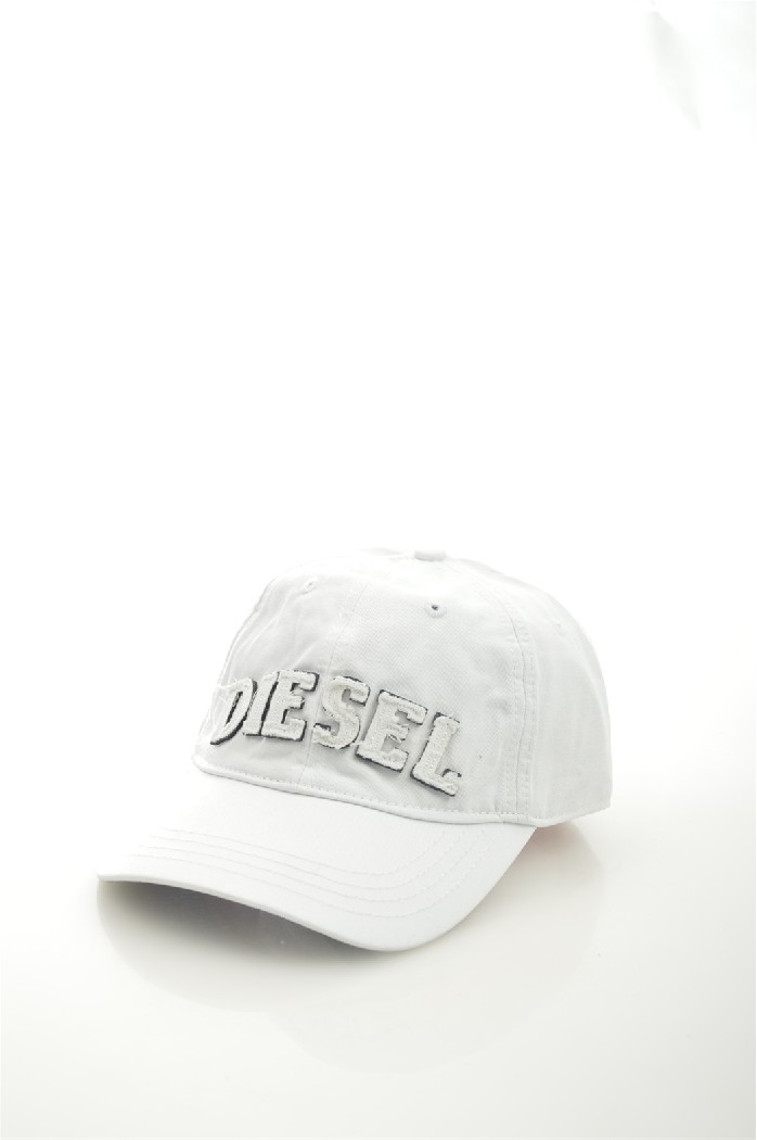мужская бейсболка diesel, белая