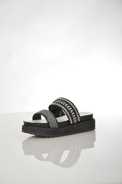 женское сабо на каблуке aldo, черное