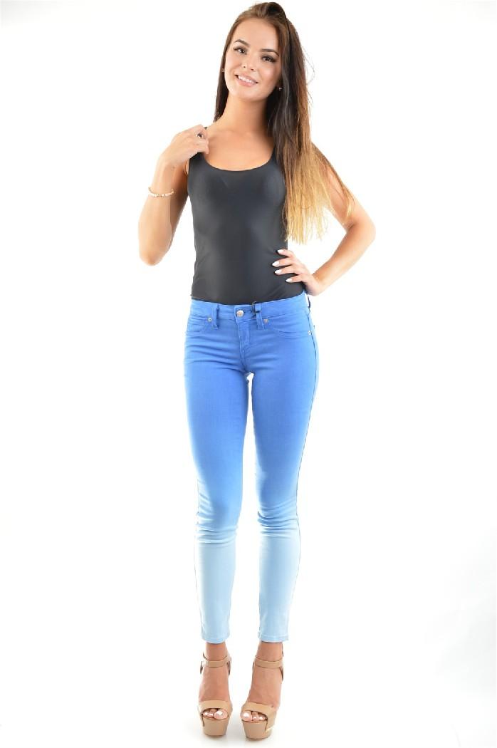 женские джинсы bebe, синие
