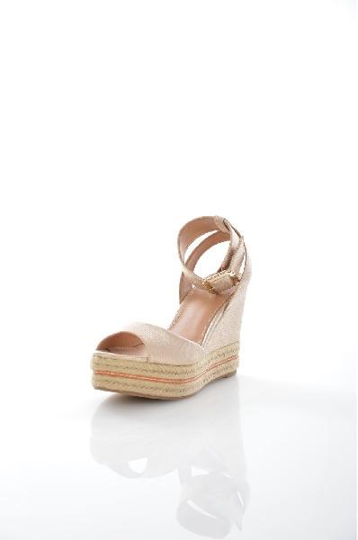 женские босоножки на каблуке aldo, бежевые