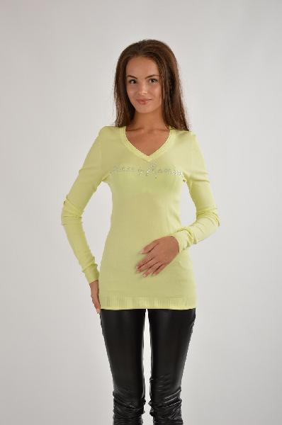 женский свитер guess by marciano, желтый