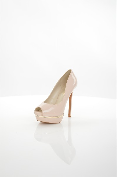 женские туфли на каблуке aldo, бежевые