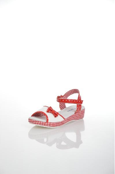 босоножки на каблуке mursu для девочки, разноцветные