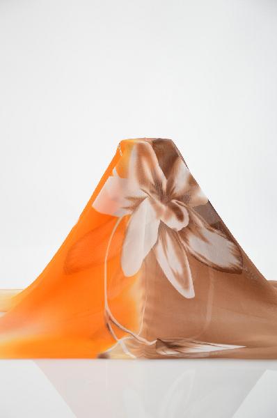женский шарф brionity, оранжевый