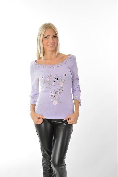 женская кофта etincelle, фиолетовая