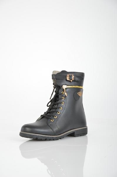 ботинки vitacci для девочки, черные