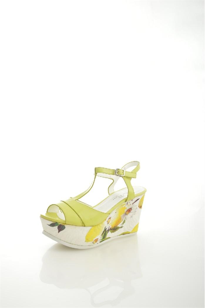 женские босоножки на каблуке dino ricci, желтые