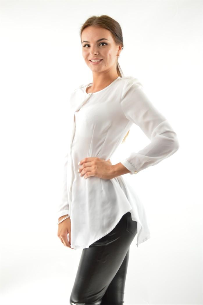 женская блузка acasta, белая