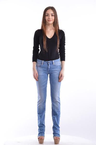 женские джинсы guess by marciano, синие
