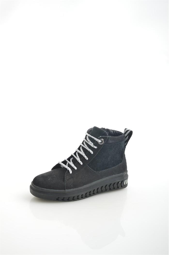женские ботинки на платформе hcs, черные