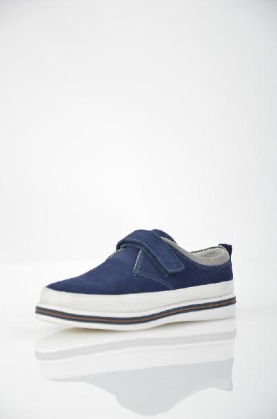 ботинки на каблуке vitacci для мальчика, синие
