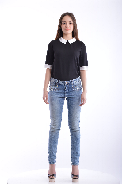 Джинсы Gloria Jeans комбинезон с рисунком глория джинс bcv000170 gloria jeans