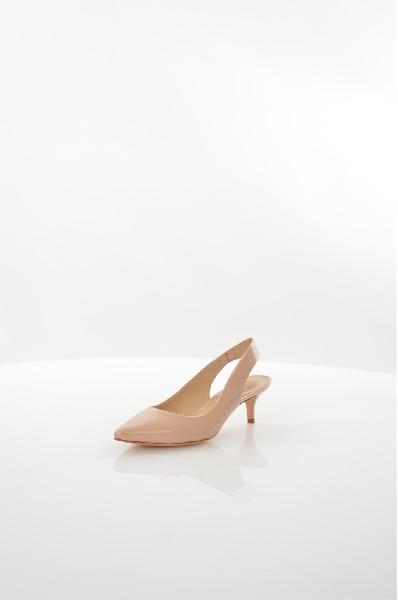 женские босоножки на каблуке schutz, бежевые