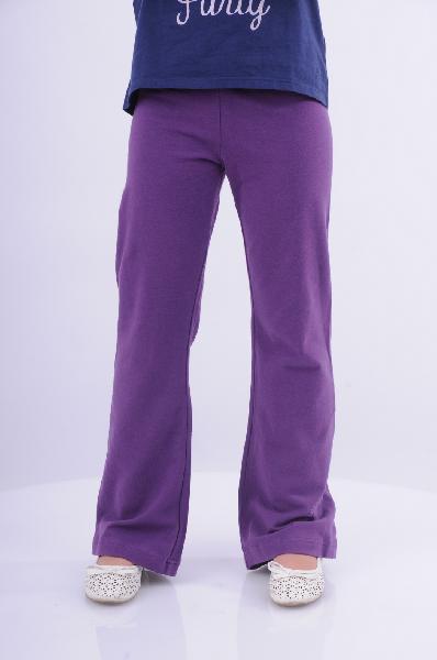 брюки клеш arina ballerina для девочки, фиолетовые