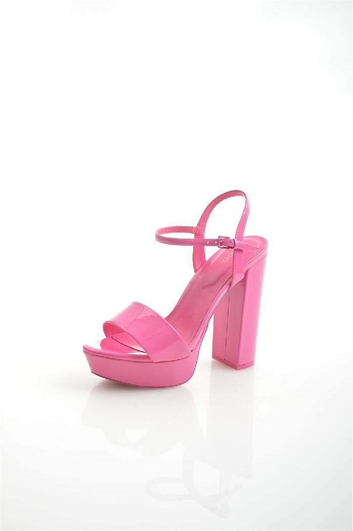 женские босоножки на каблуке aldo, розовые