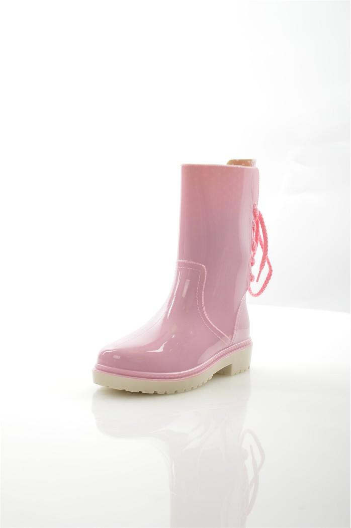 женские резиновые сапоги keddo, розовые