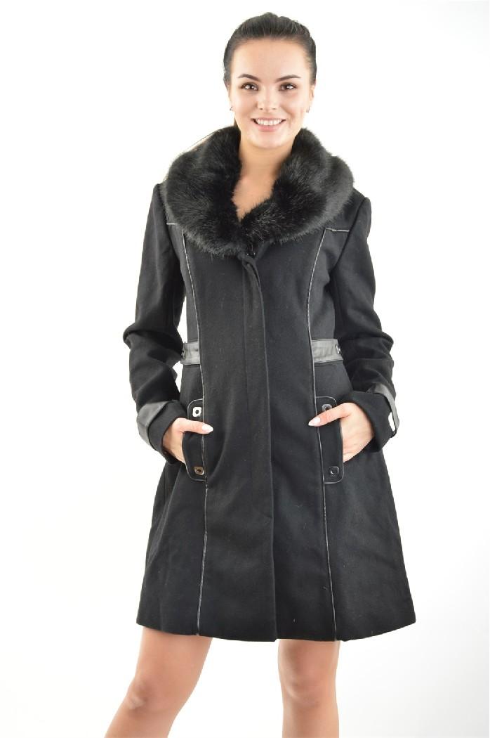 женское пальто bebe, черное