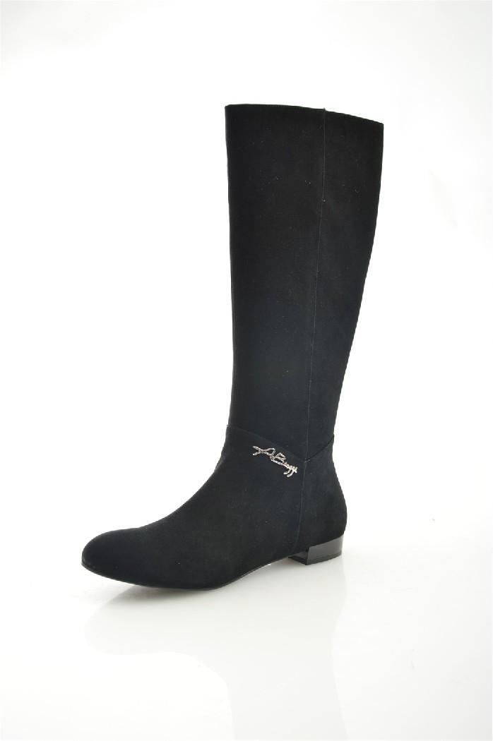 женские сапоги на каблуке antonio biaggi, черные