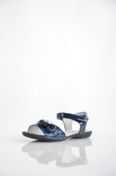босоножки на платформе vitacci для девочки, синие