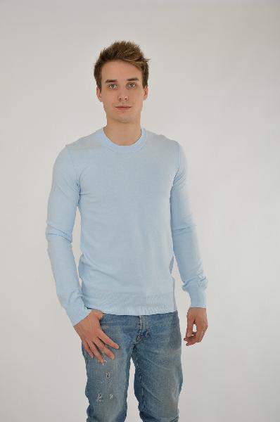 мужской свитер dolce & gabbana, голубой