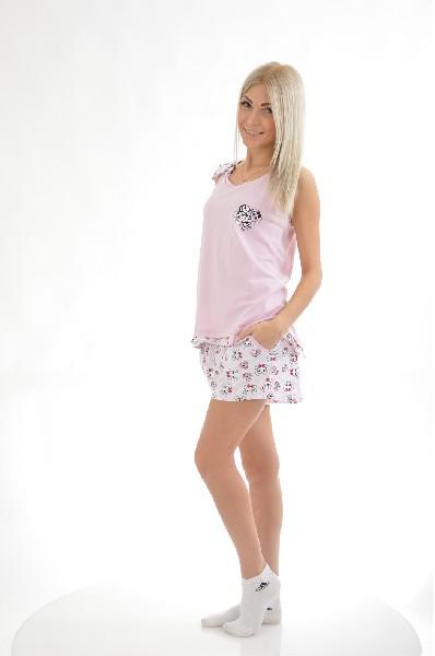Пижама RELAX MODE комплект топ майка и шорты relax mode комплект топ майка и шорты
