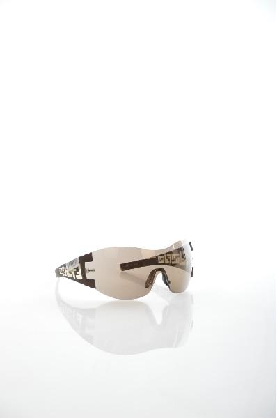 женские солнцезащитные очки fendi, коричневые