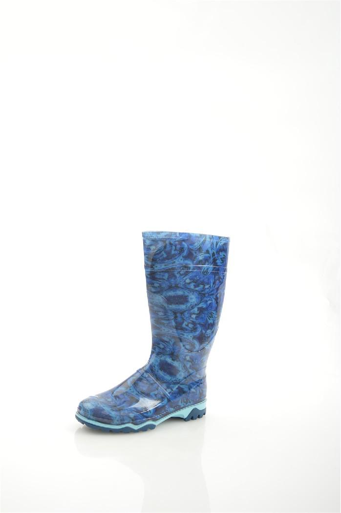 женские резиновые сапоги дюна, синие