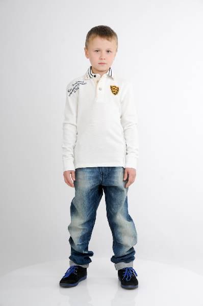 прямые джинсы iana для мальчика, синие