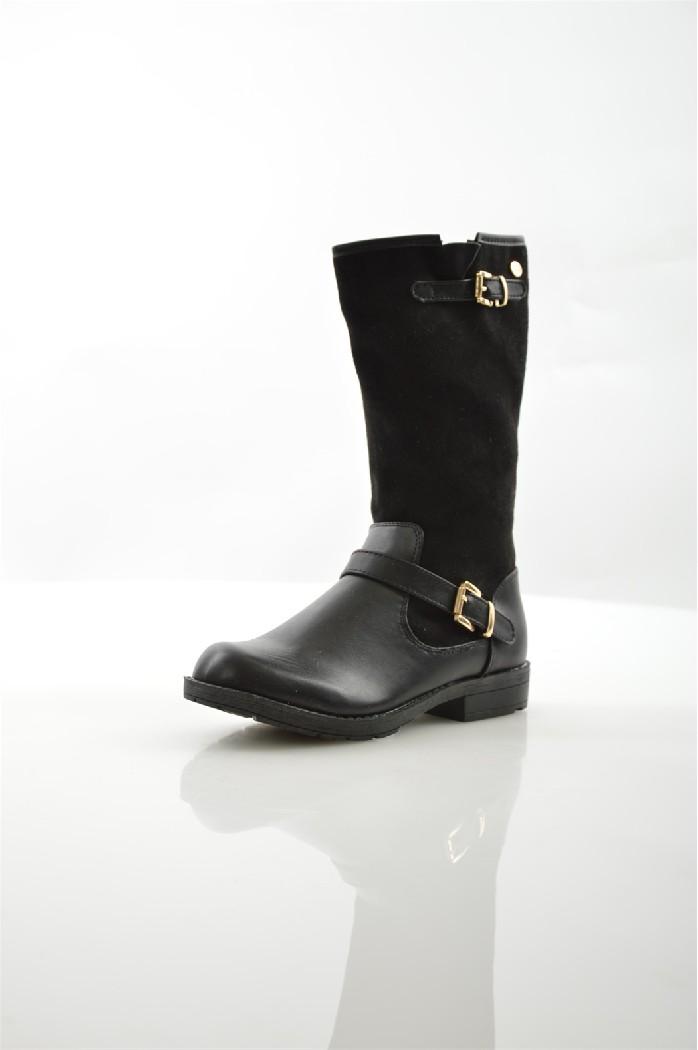 сапоги на каблуке xti для девочки, черные
