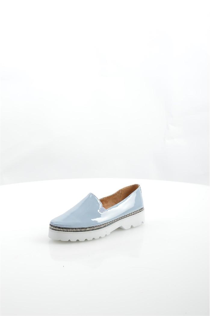 женские туфли на каблуке avenir, голубые