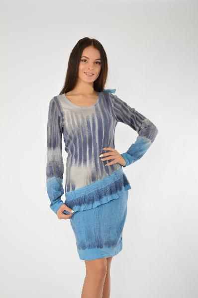 женское платье etincelle, синее