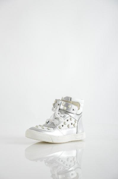 ботинки на каблуке vitacci для девочки, серые