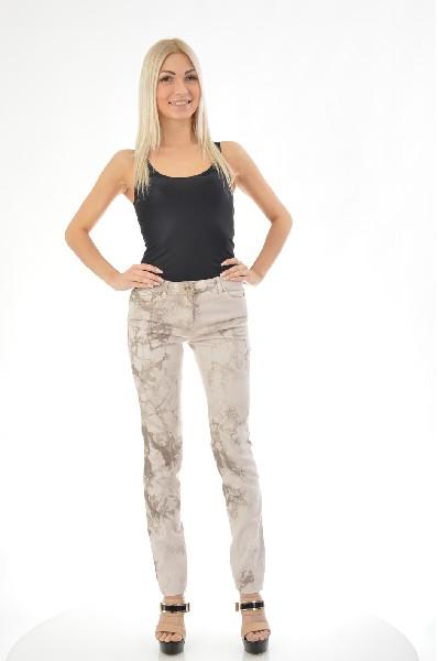 женские джинсы roberto cavalli, серые