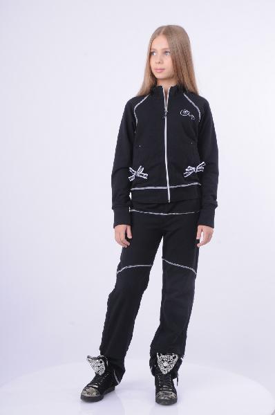 спортивные спортивный костюм arina ballerina для девочки, черный