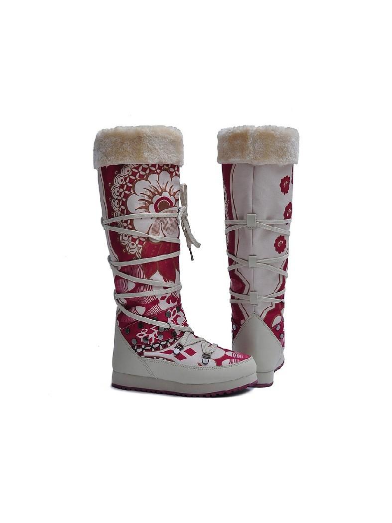 женские дутики king boots, разноцветные