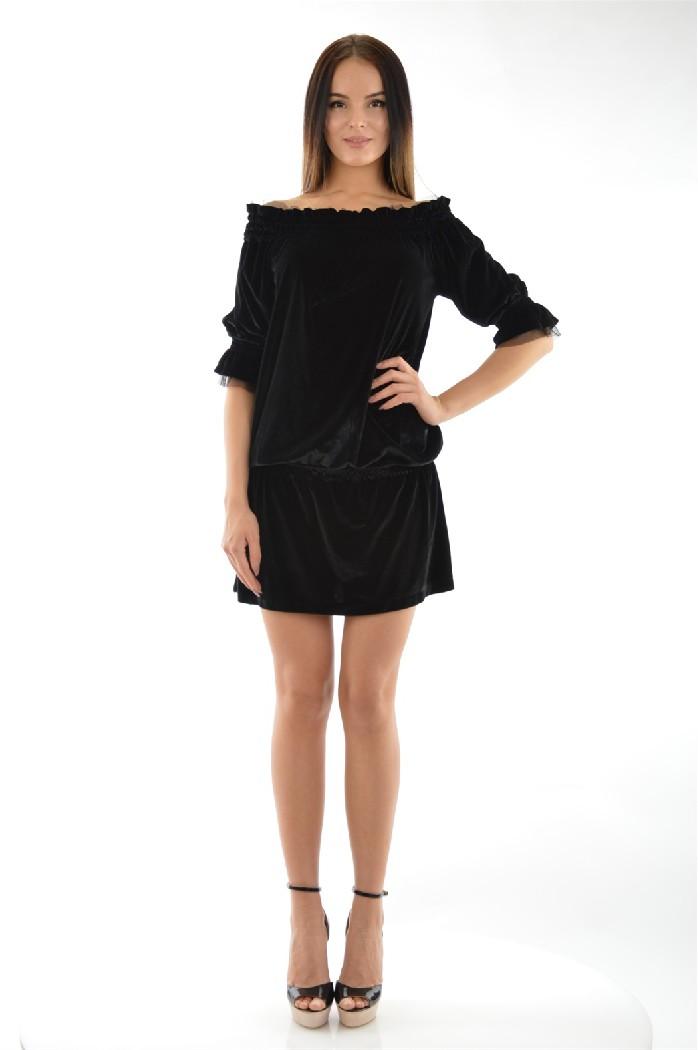 Купить Платье Arizona, США, Черный, Полиэстер, МУЛЬТИ, Весна-лето