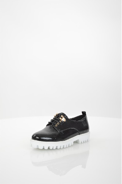 женские ботинки на каблуке daze, черные