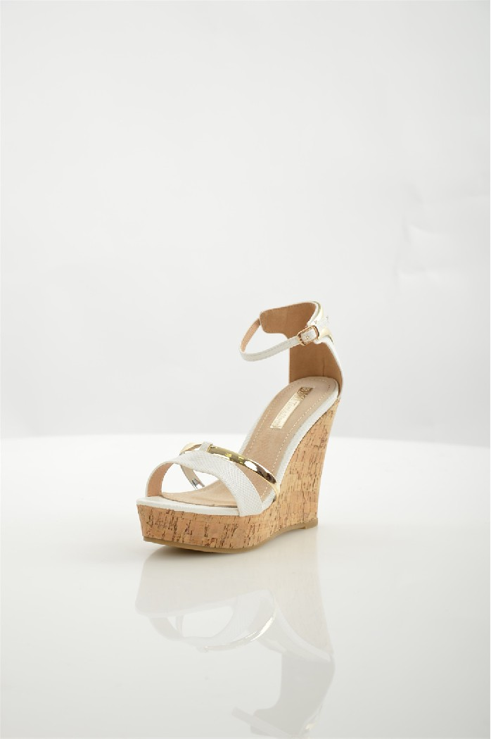 женские босоножки на каблуке xti, белые
