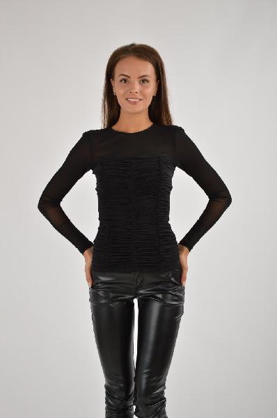 женская блузка bebe, черная