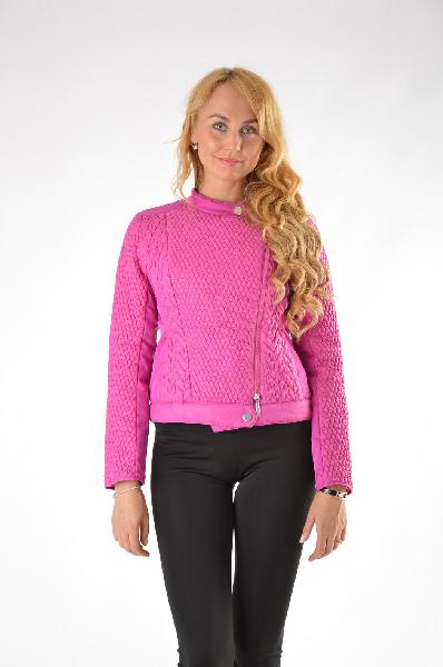 женская куртка best connections, розовая