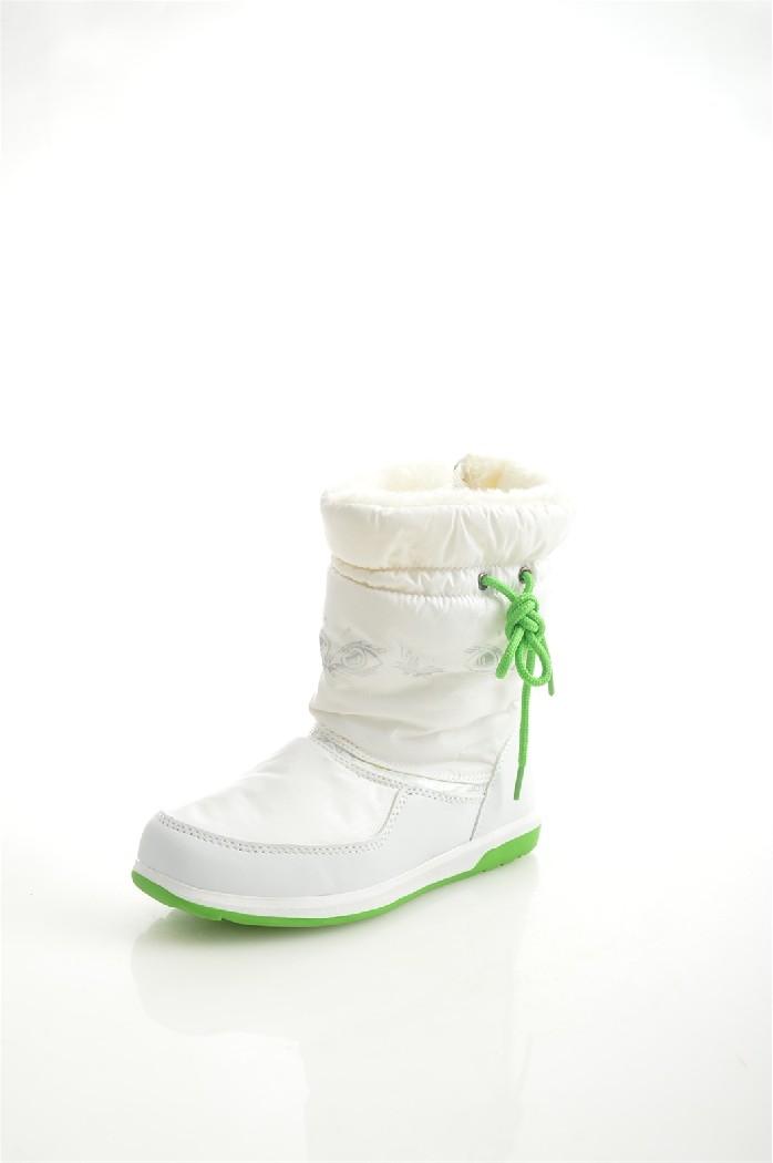 женские дутики king boots, белые